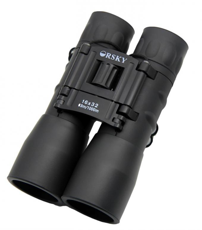 16x32 Compact Folding Binoculars , Pocket Size Compact High Power Binoculars