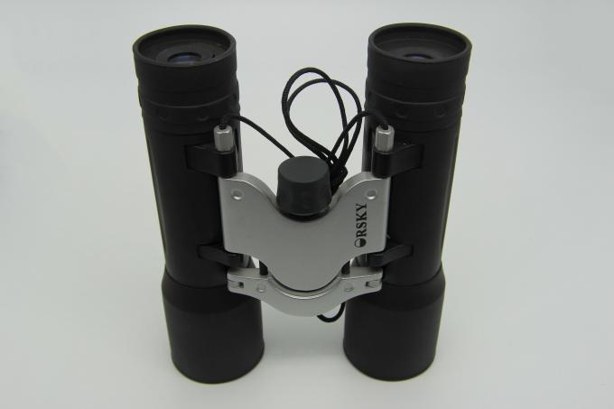 Professional Folding Roof Prism Binoculars , Black 10x32 Small Binoculars For Travel