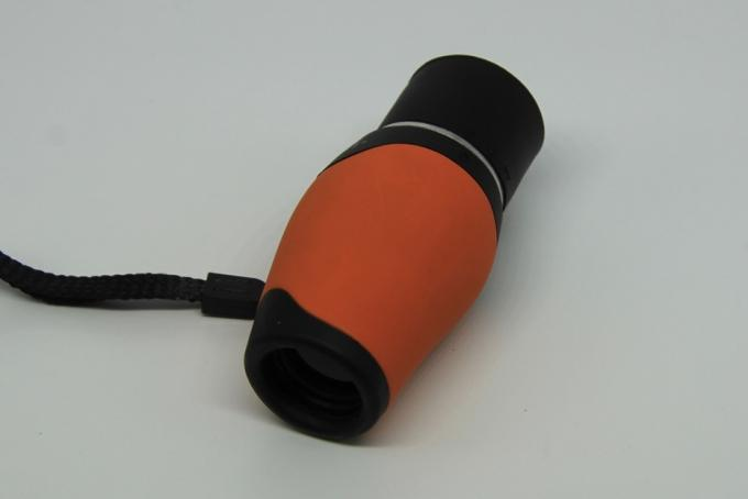 Cute Orange Color Pocket Monocular Telescope With Extra Wide Field Of View