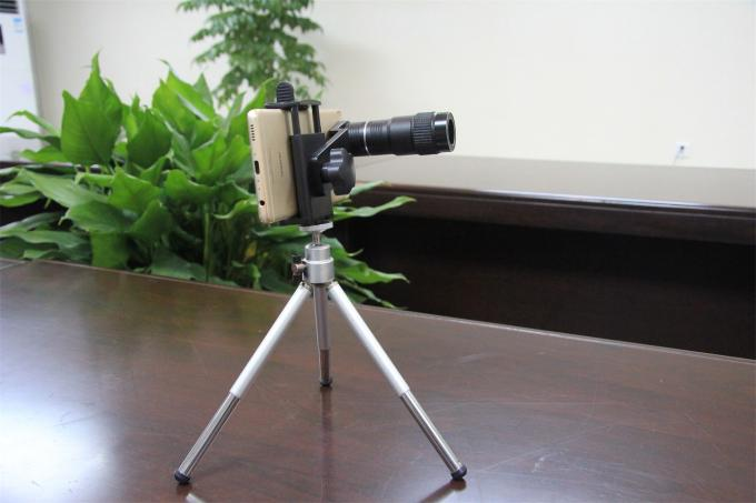 Outdoor Mobile Phone Monocular 6x Magnification 18mm Objective Diameter