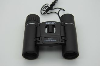 China Dual Focus 8x21 Compact Folding Binoculars , Small Compact Travel Binoculars supplier