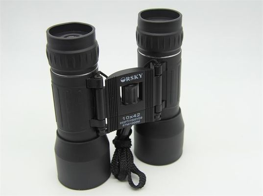 China HD Professional Hiking Lightweight Binoculars 10x42 Center Focus Knob For Easy Focusing supplier