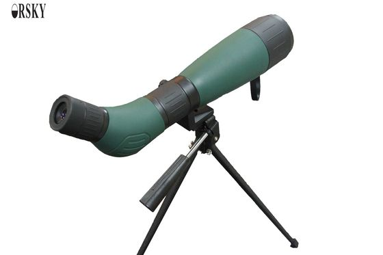 China Durable High Definition Long Range Angled Spotting Scope With Excellent Light Transmission supplier