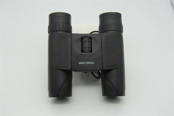 China Portable Compact Folding Binoculars , 8X25 Pocket Binoculars For Bird Watching supplier