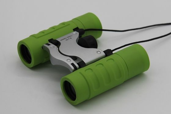 China Roof Prism Green Lightweight Travel Binoculars Easy Carrying Best Gift For Girls supplier