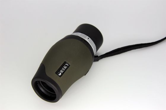 China Army Green Portable Pocket HD Monocular Telescope High Durability Wide Field Of View supplier