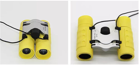 China Yellow Green Red Cheap Foldable Binoculars 180g For Kids Traveling supplier
