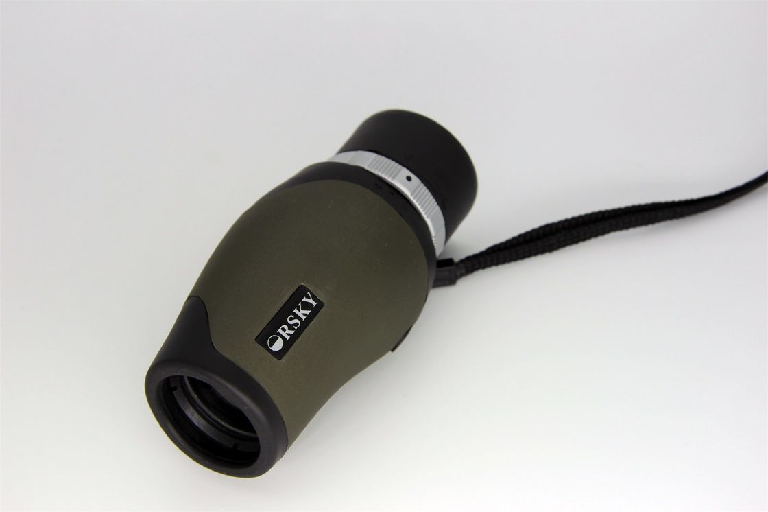 Army green portable pocket hd monocular telescope high durability