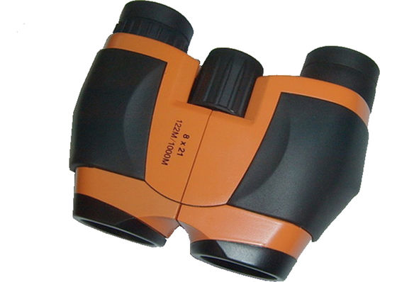 Customized Color Small Compact Binoculars 21mm Objective Diameter For Kids