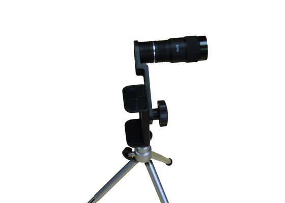 China 6x Magnification Cell Phone Monocular , 210m / 1000m Telescope Lens For Cell Phone factory