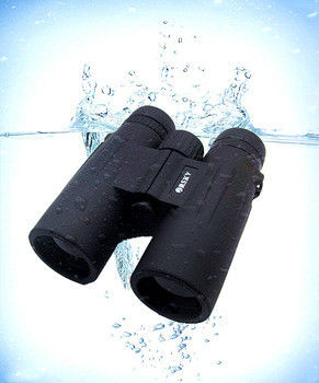 Water Resistant Bak4 Long Range Binoculars For Camping Hiking 42mm Clear Aperture