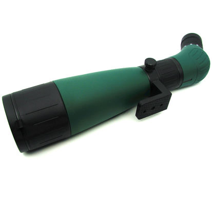 Army Green Long Distance Power Zoom Binoculars 60mm Objective Diameter 20x - 60x Magnification