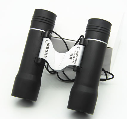 Clear and Bright Popular Variable Zoom Binoculars 10x25 8X25 for Kids Adults